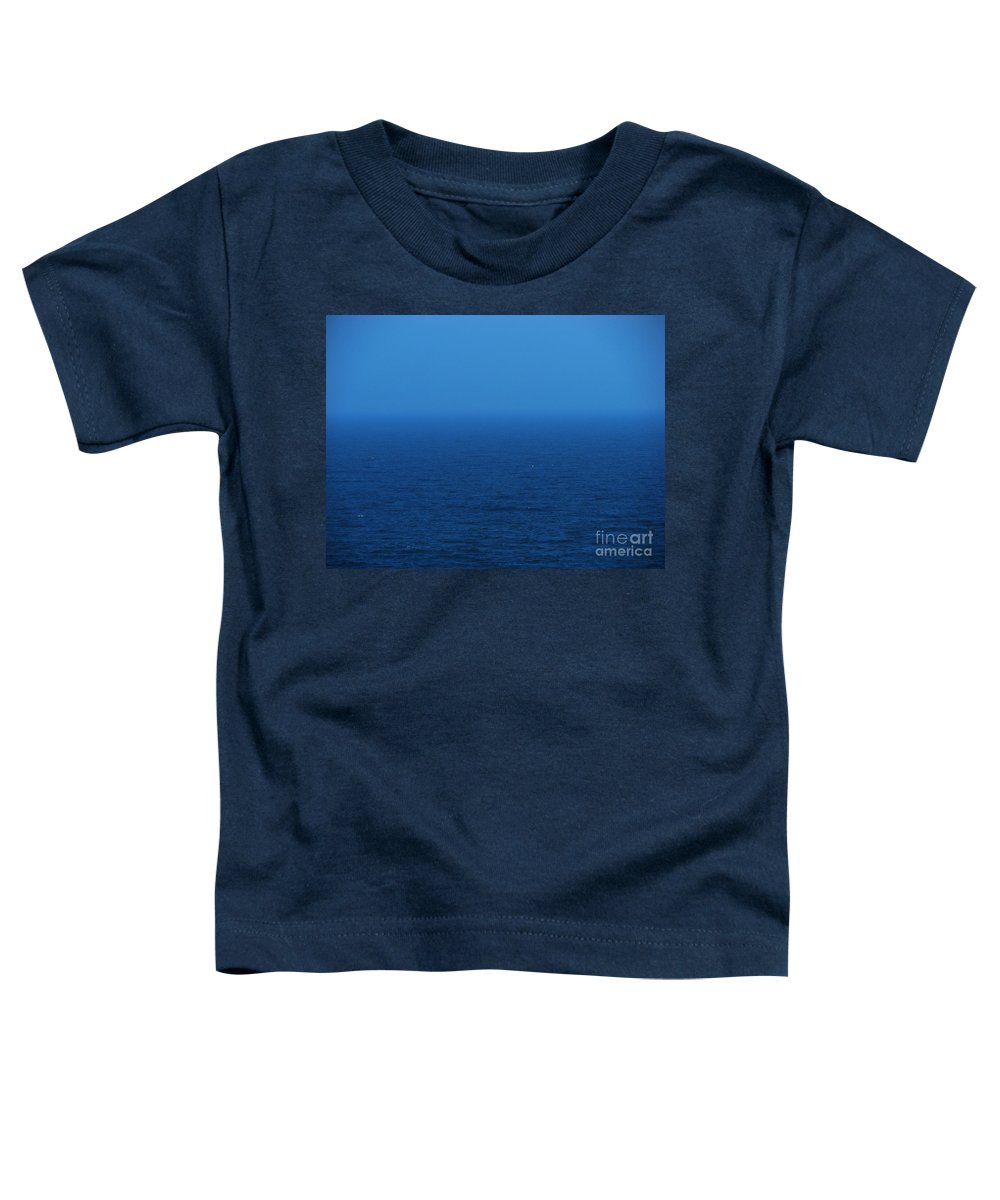 Blue Toddler T-Shirt featuring the photograph Stepping Into A Dream by Amanda Barcon