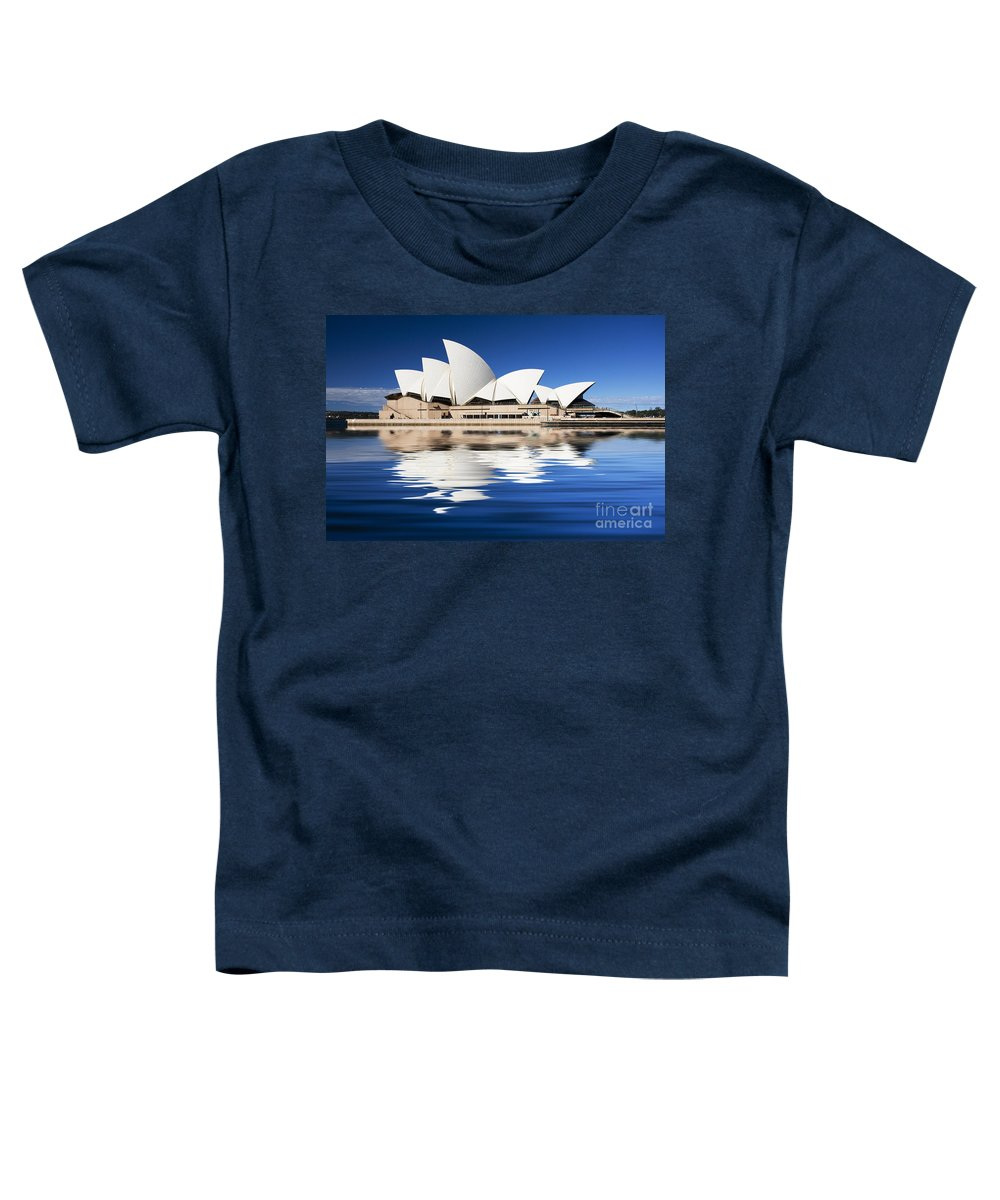 Sydney Opera House Toddler T-Shirt featuring the photograph Sydney Icon by Avalon Fine Art Photography