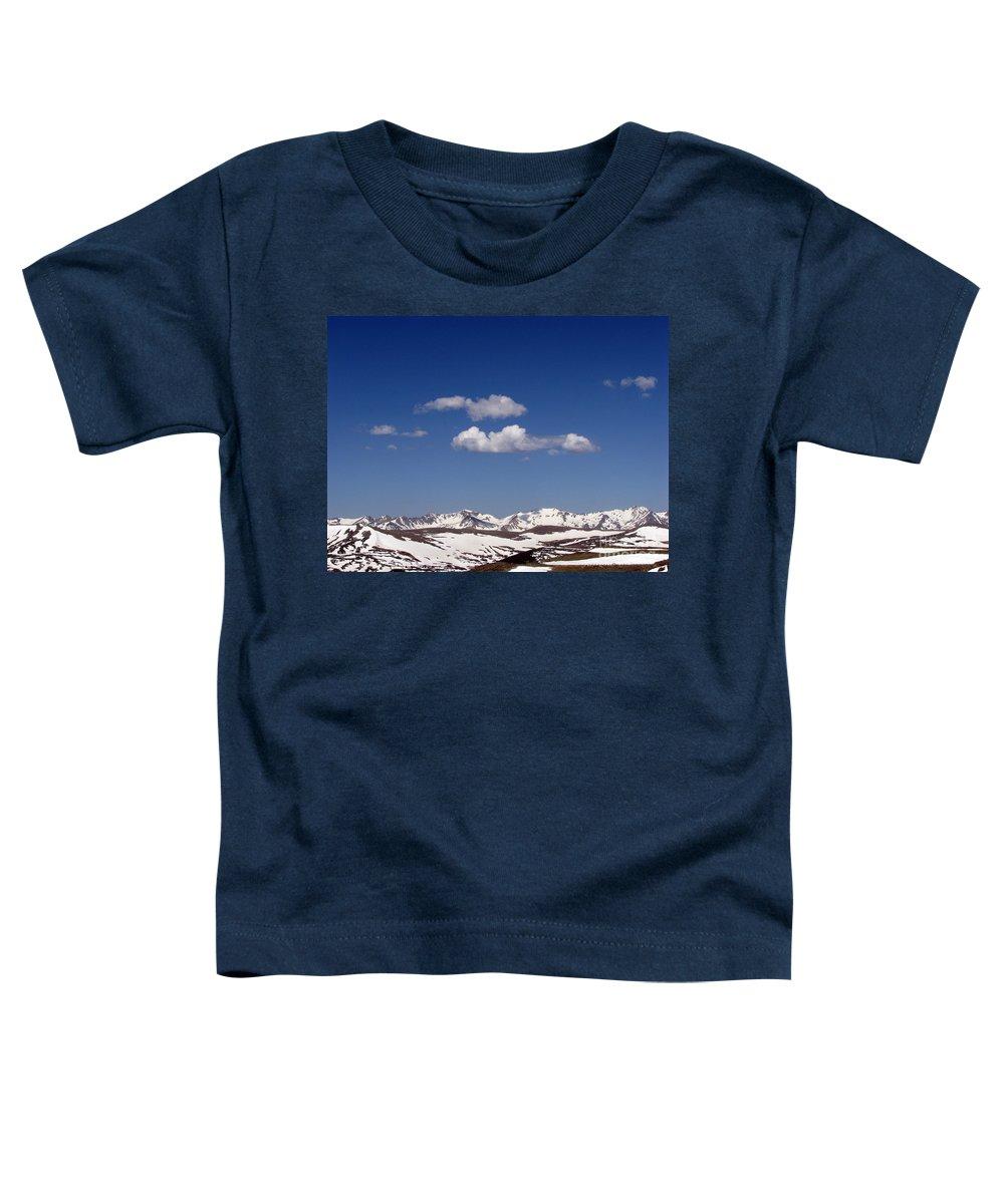 Mountains Toddler T-Shirt featuring the photograph Colorado by Amanda Barcon