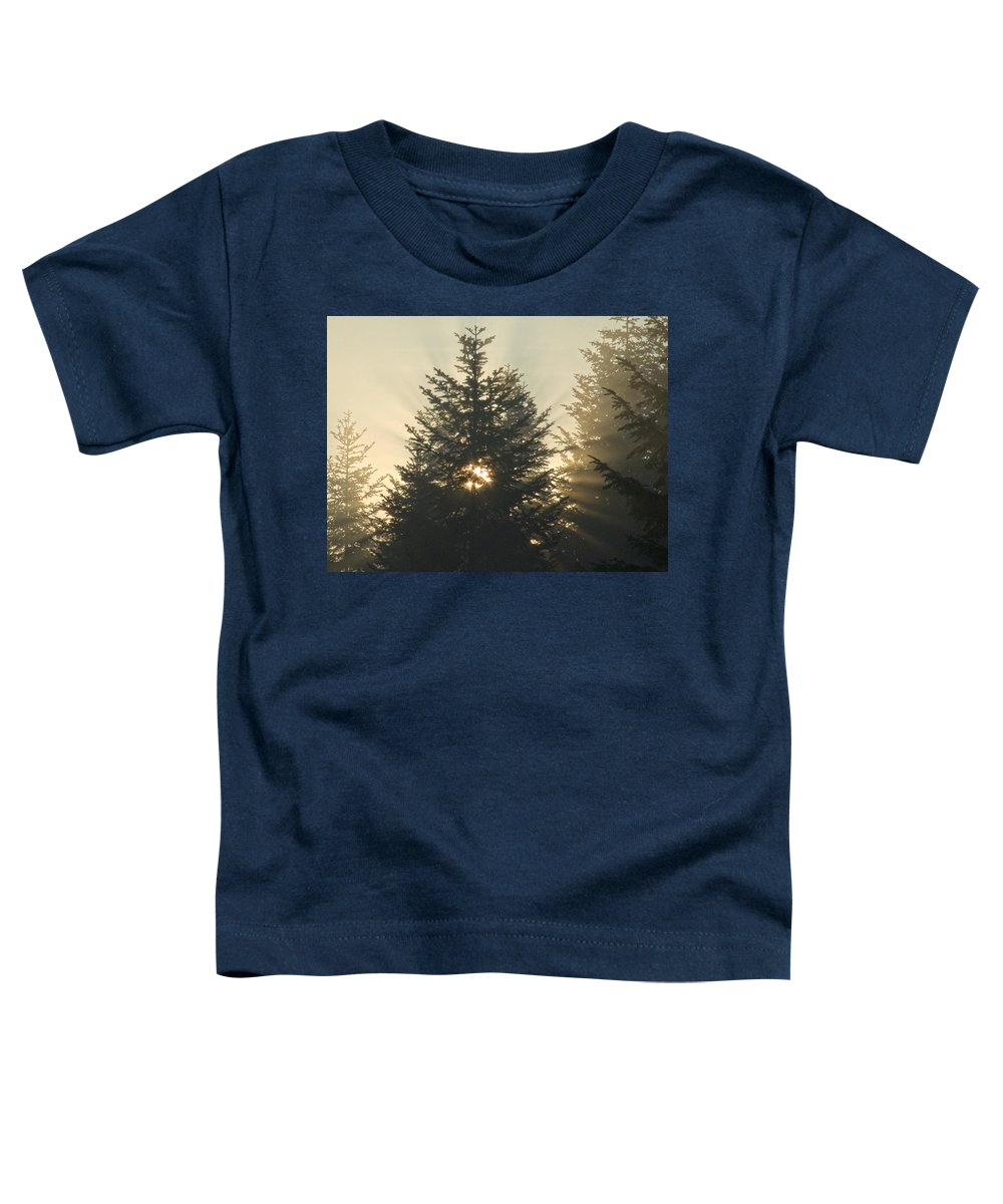 Nature Toddler T-Shirt featuring the photograph Dawn by Daniel Csoka