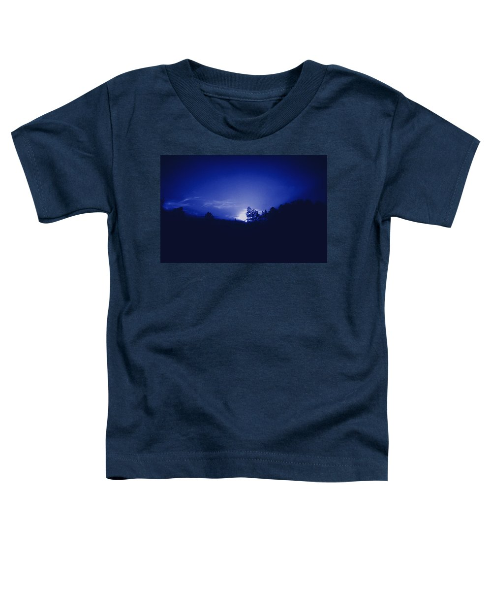 Sky Toddler T-Shirt featuring the photograph Where The Smurfs Live 2 by Max Mullins