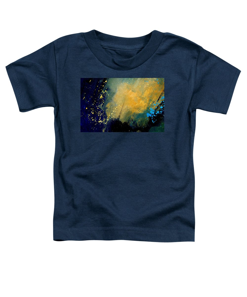 Abstract Toddler T-Shirt featuring the painting Abstract 061 by Pol Ledent