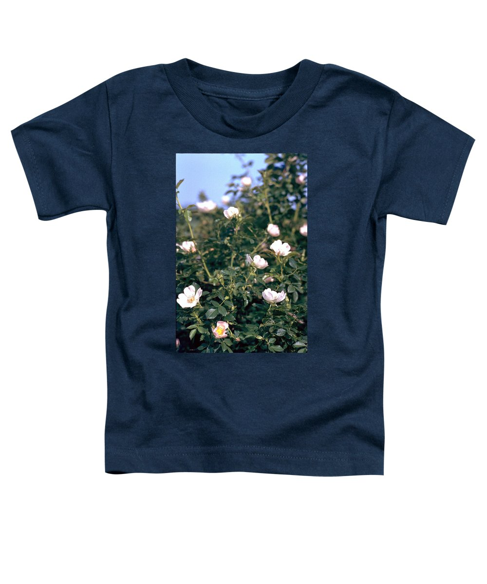 Anemone Toddler T-Shirt featuring the photograph Anemone by Flavia Westerwelle