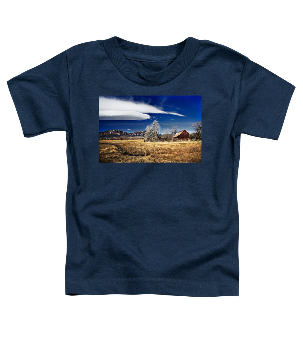 Colorado Toddler T-Shirt featuring the photograph Beautiful Colorado by Marilyn Hunt