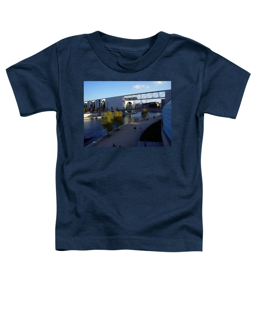 Paul-loebe Toddler T-Shirt featuring the photograph Berlin II by Flavia Westerwelle
