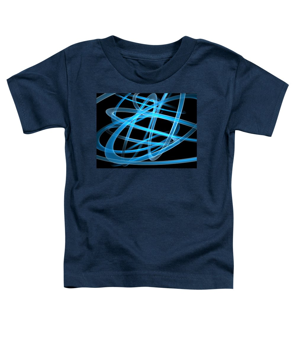 Scott Piers Toddler T-Shirt featuring the painting Blue Light by Scott Piers