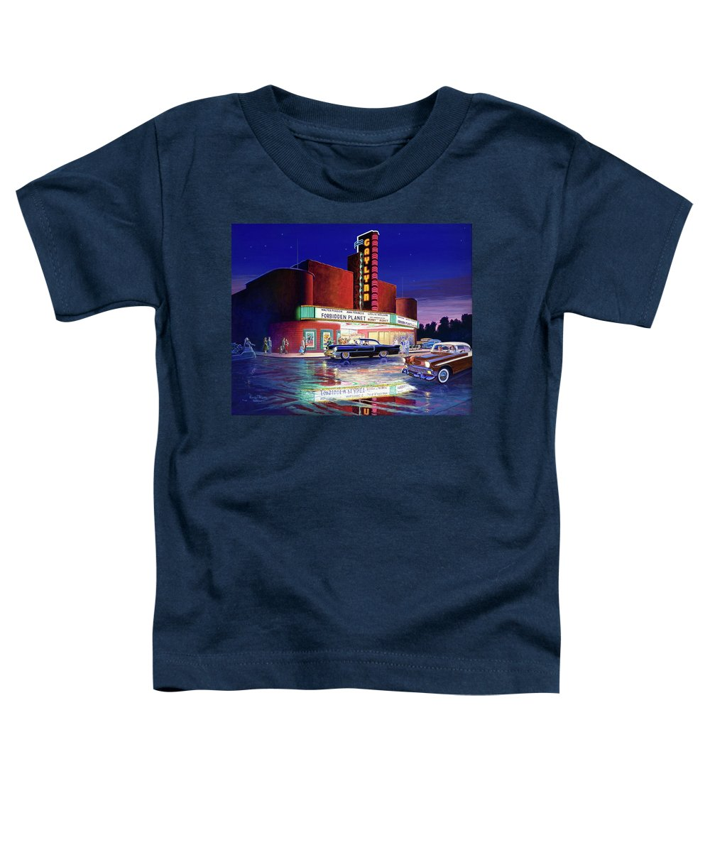 Robby The Robot Paintings Toddler T-Shirts