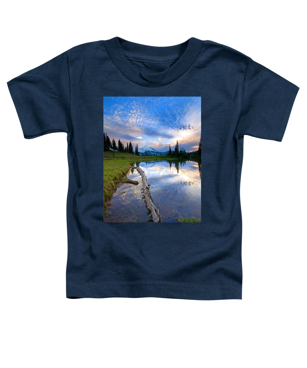 Landscape Toddler T-Shirt featuring the photograph Cloud Explosion by Mike Dawson