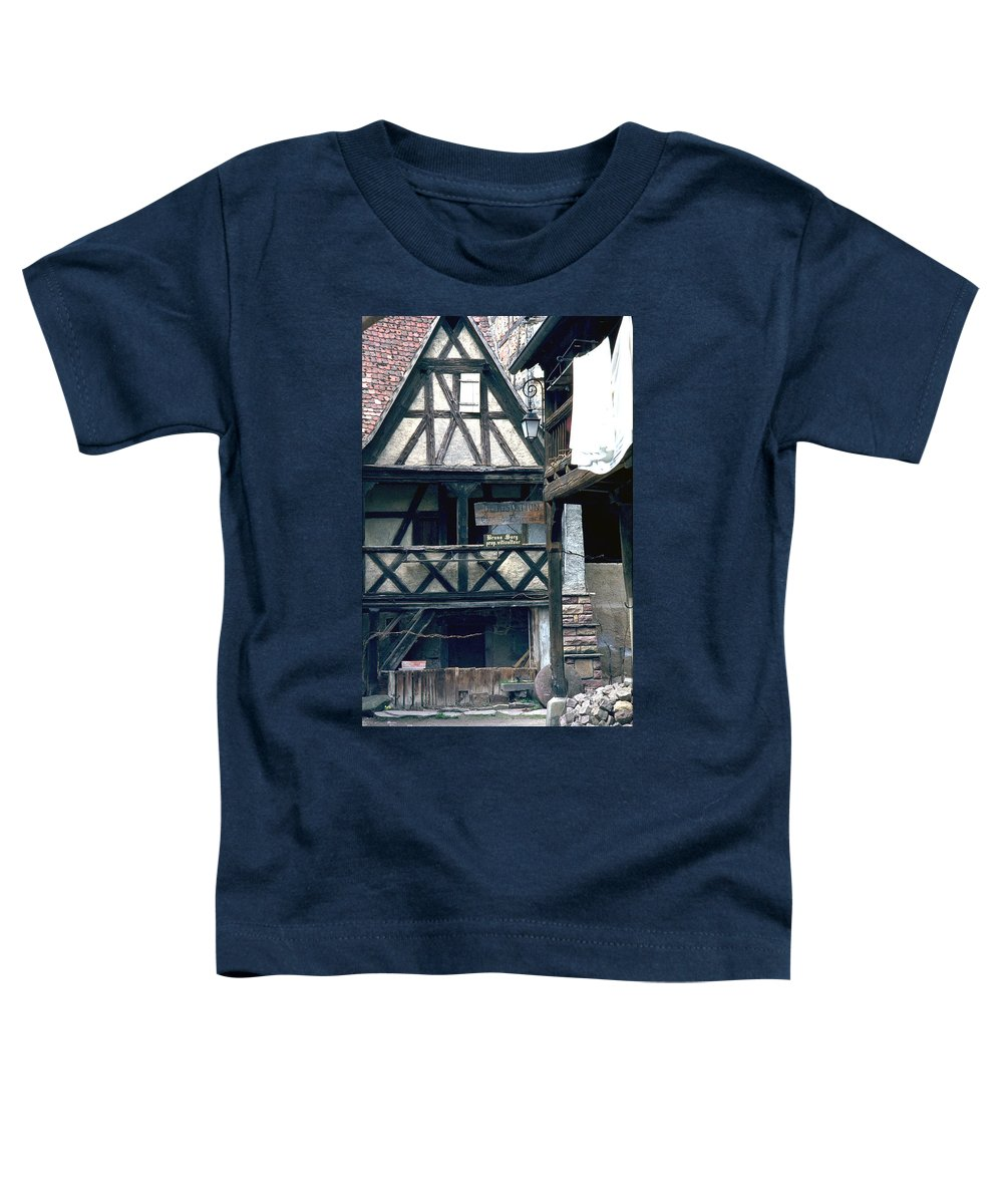 Colmar Toddler T-Shirt featuring the photograph Colmar by Flavia Westerwelle