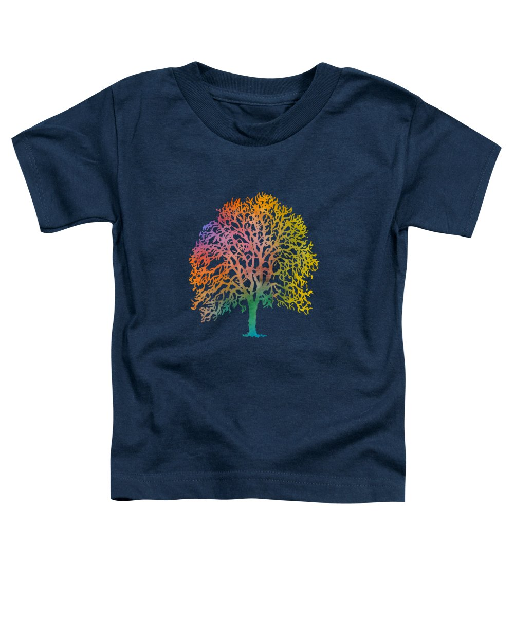 Impressionism Mixed Media Toddler T-Shirts