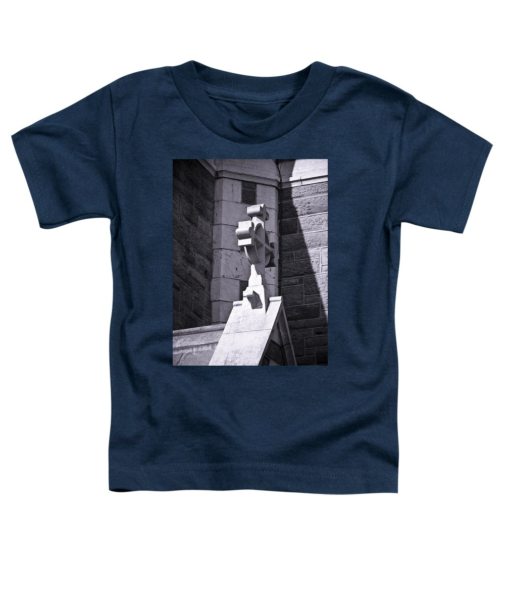 Irish Toddler T-Shirt featuring the photograph Cross At St. Johns Tralee Ireland by Teresa Mucha