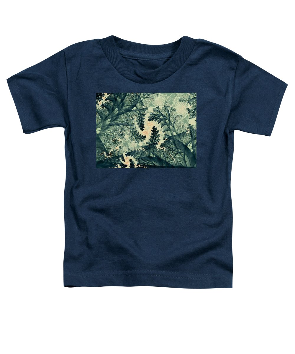 Plant Toddler T-Shirt featuring the digital art Cubano Cubismo by Casey Kotas