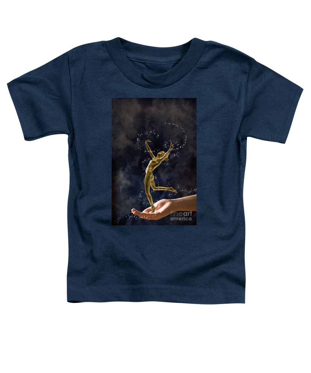 Antique Toddler T-Shirt featuring the photograph Dancer by Amanda Elwell
