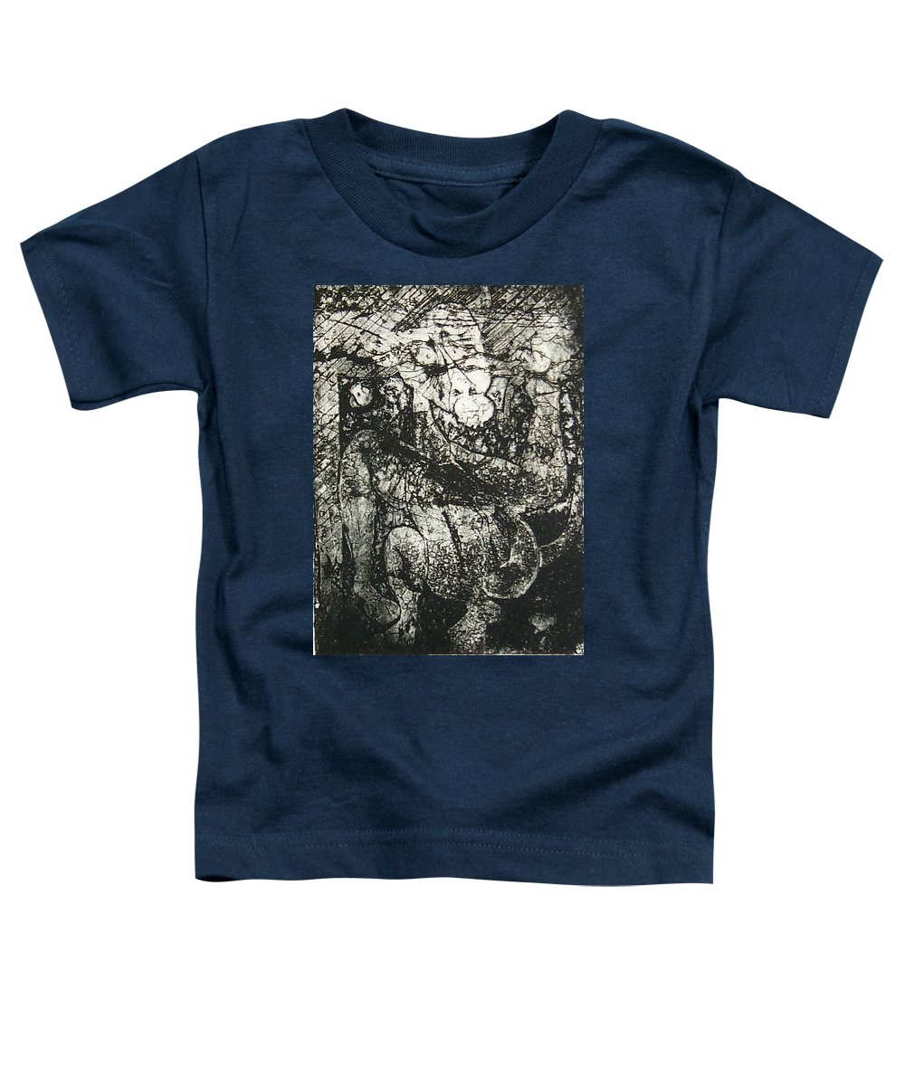 Etching Toddler T-Shirt featuring the print Destroy Plate by Thomas Valentine