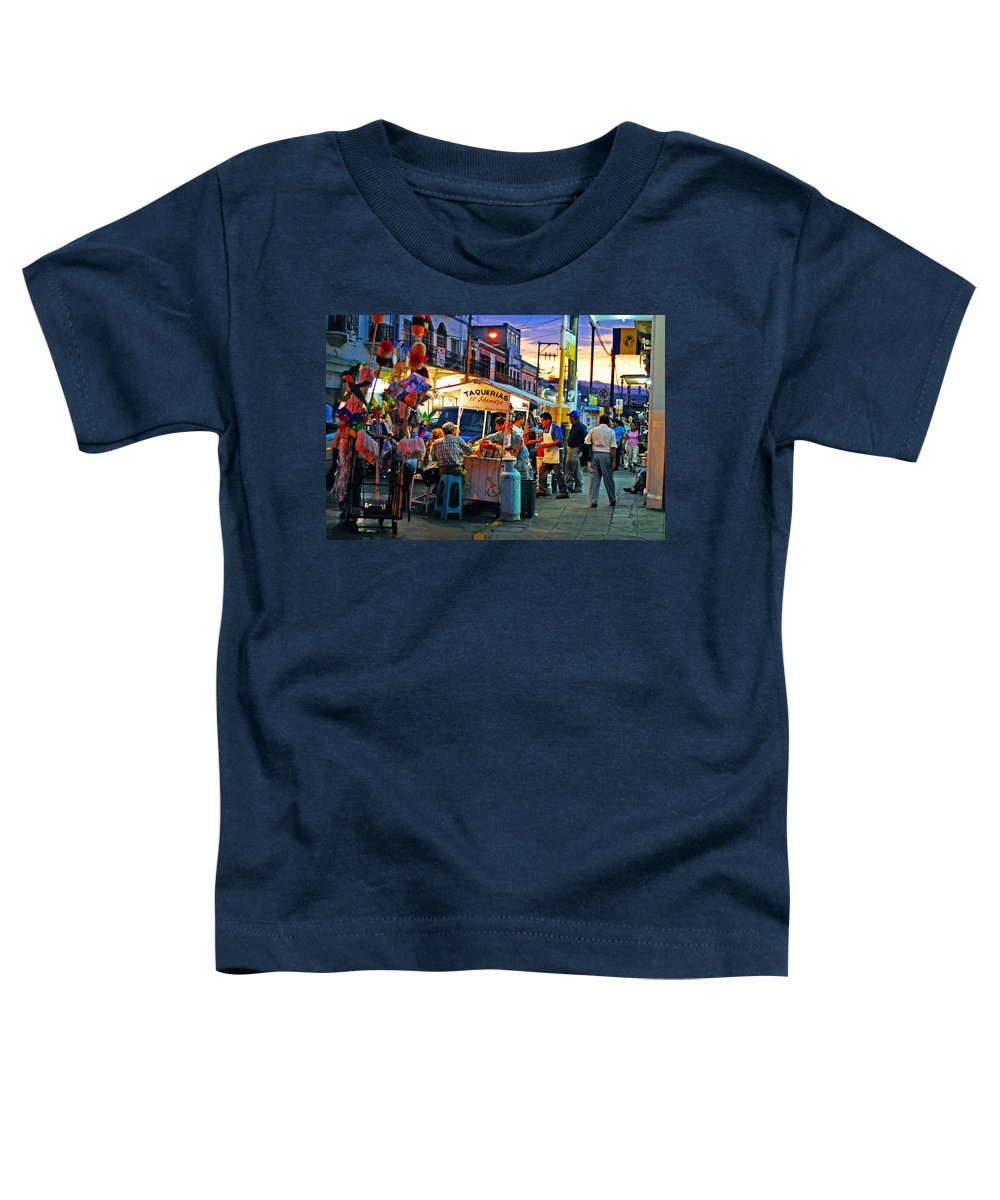 Skip Hunt Toddler T-Shirt featuring the photograph El Flamazo by Skip Hunt