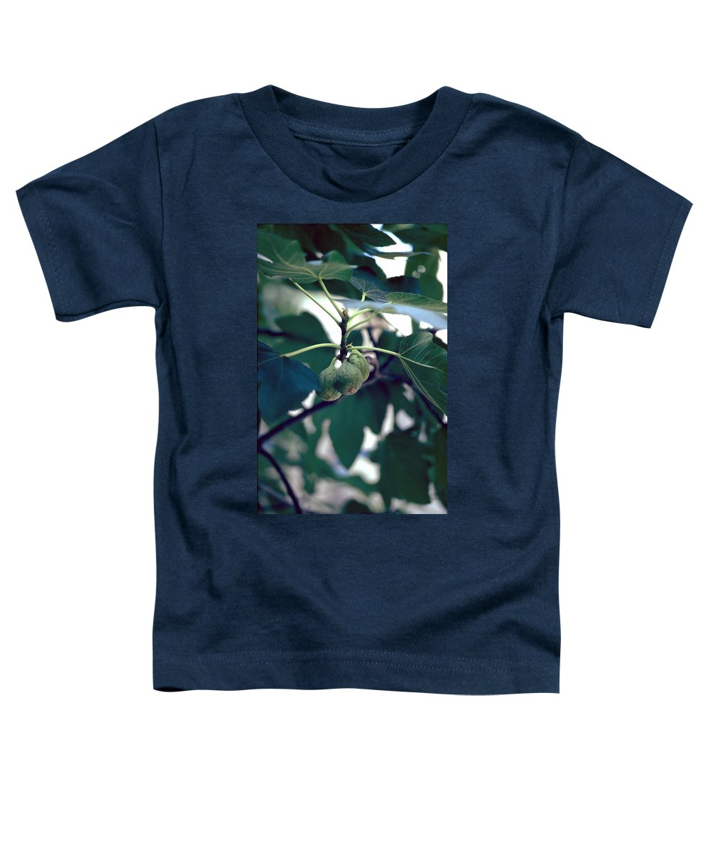 Fig Toddler T-Shirt featuring the photograph Fig by Flavia Westerwelle