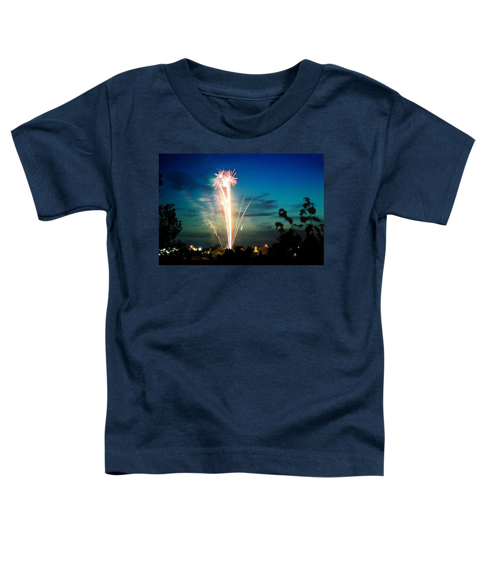 Landscape Toddler T-Shirt featuring the photograph Fourth Of July by Steve Karol