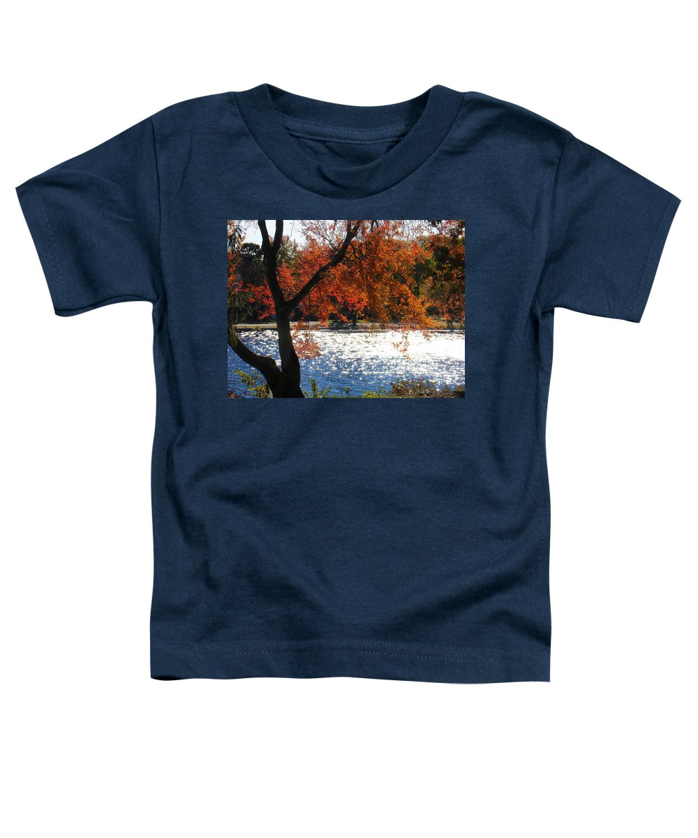Landscape Toddler T-Shirt featuring the photograph Lakewood by Steve Karol