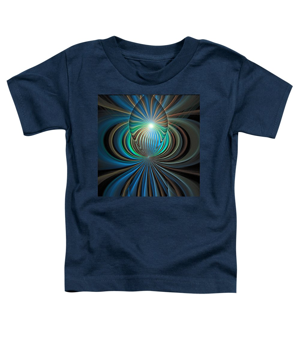 Digital Art Toddler T-Shirt featuring the digital art Namaste by Amanda Moore