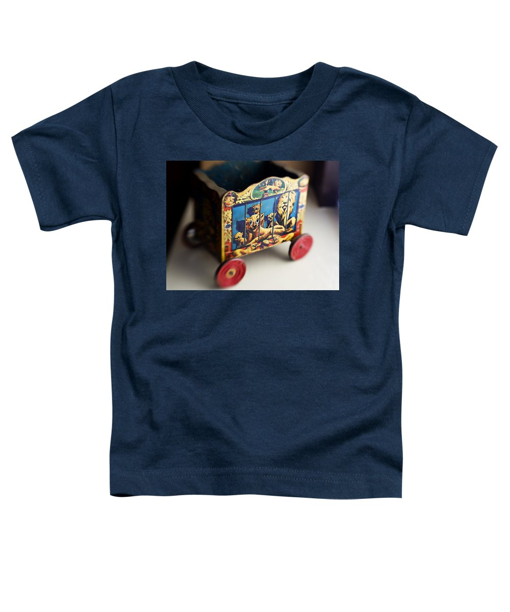 Americana Toddler T-Shirt featuring the photograph Old Toy by Marilyn Hunt