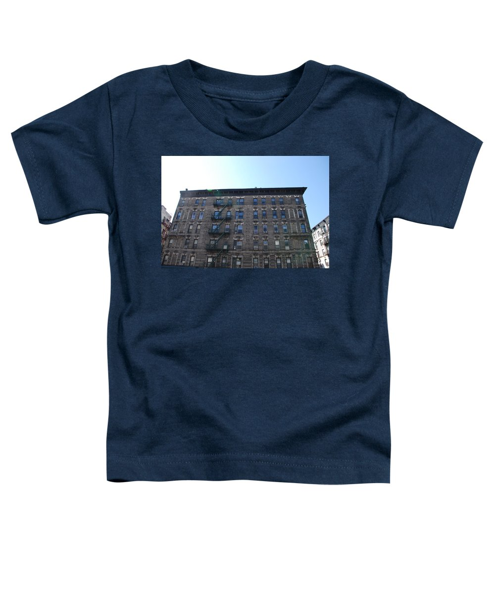 Architecture Toddler T-Shirt featuring the photograph Physical Graffitti by Rob Hans