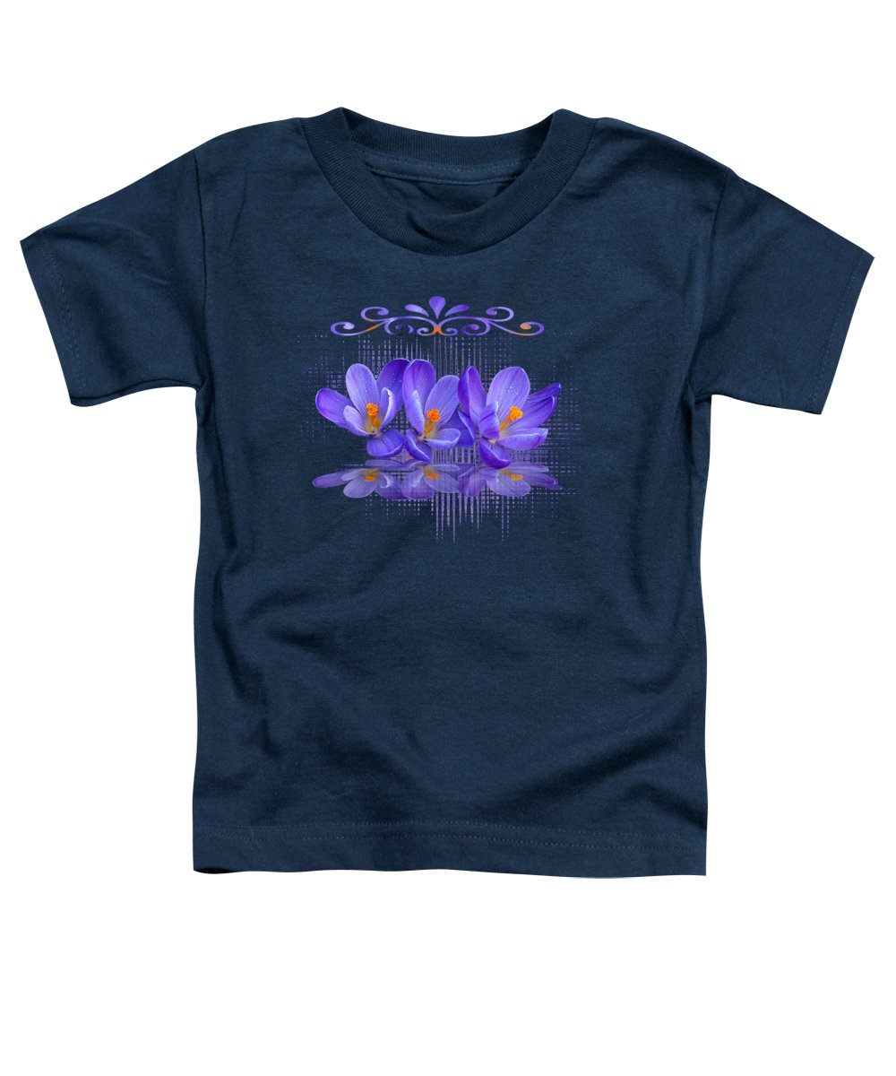 Purple Toddler T-Shirt featuring the photograph Purple Passion by Gill Billington