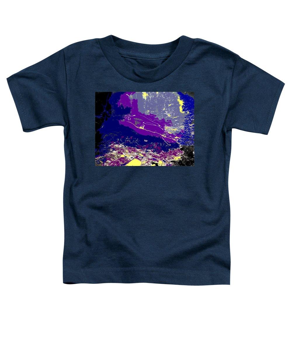 Rainforest Toddler T-Shirt featuring the photograph Rainforest Shadows by Ian MacDonald