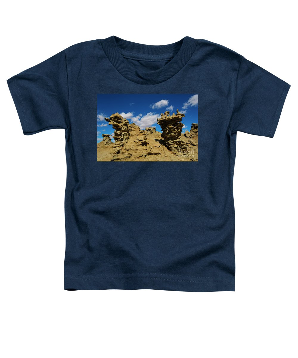 Siltstone Toddler T-Shirt featuring the photograph Sand Demons by Mike Dawson