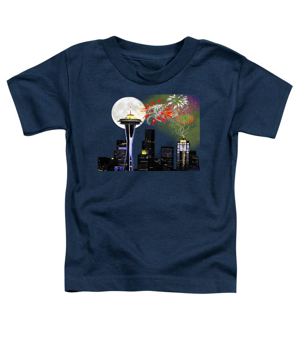 Skyscraper Toddler T-Shirts