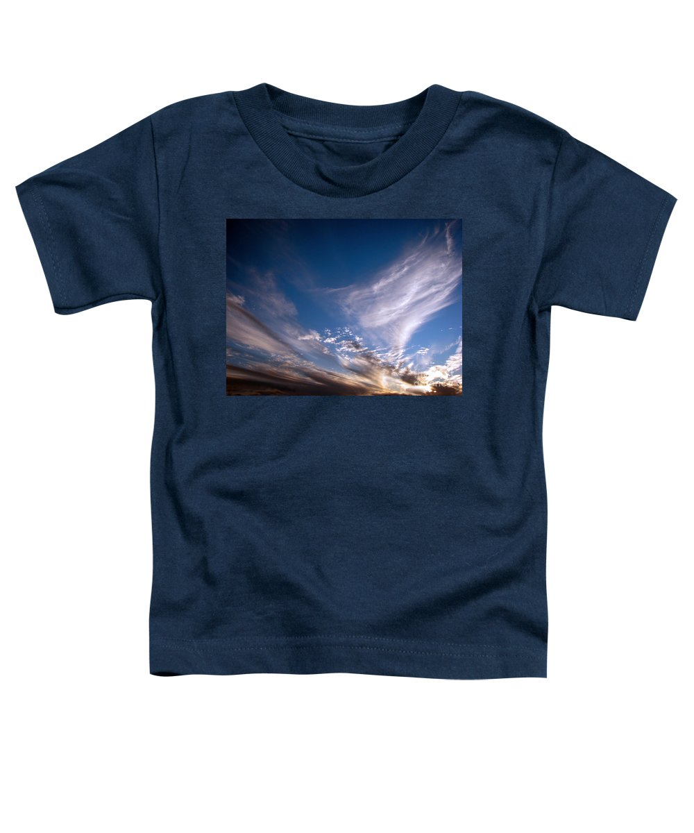 Skies Toddler T-Shirt featuring the photograph Sky by Amanda Barcon