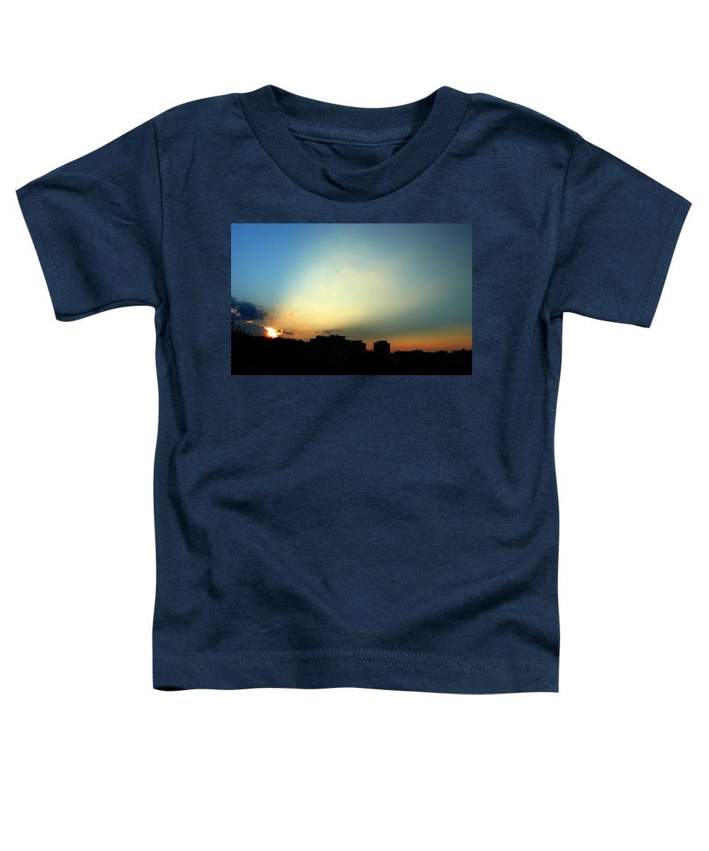Nature Toddler T-Shirt featuring the photograph Spotlight by Daniel Csoka