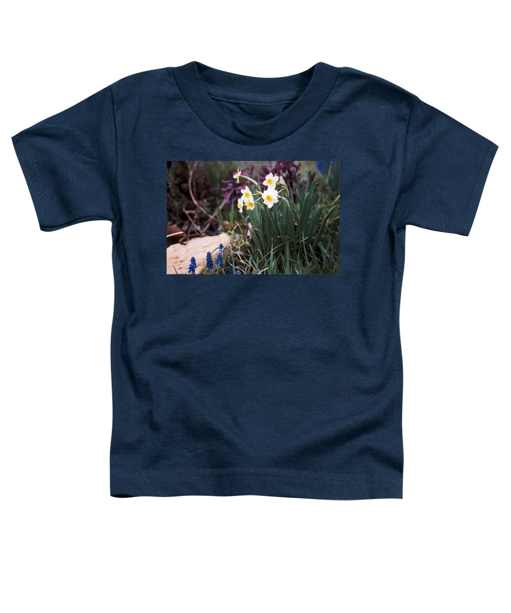 Flowers Toddler T-Shirt featuring the photograph Spring Garden by Steve Karol