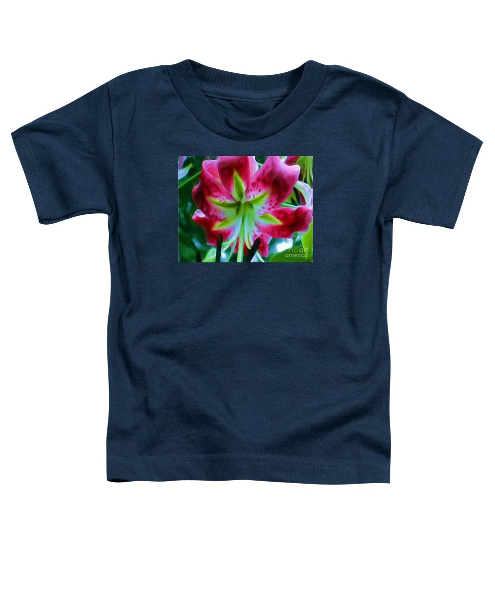 Fine Art Photography Toddler T-Shirt featuring the photograph Stargazer by Patricia Griffin Brett
