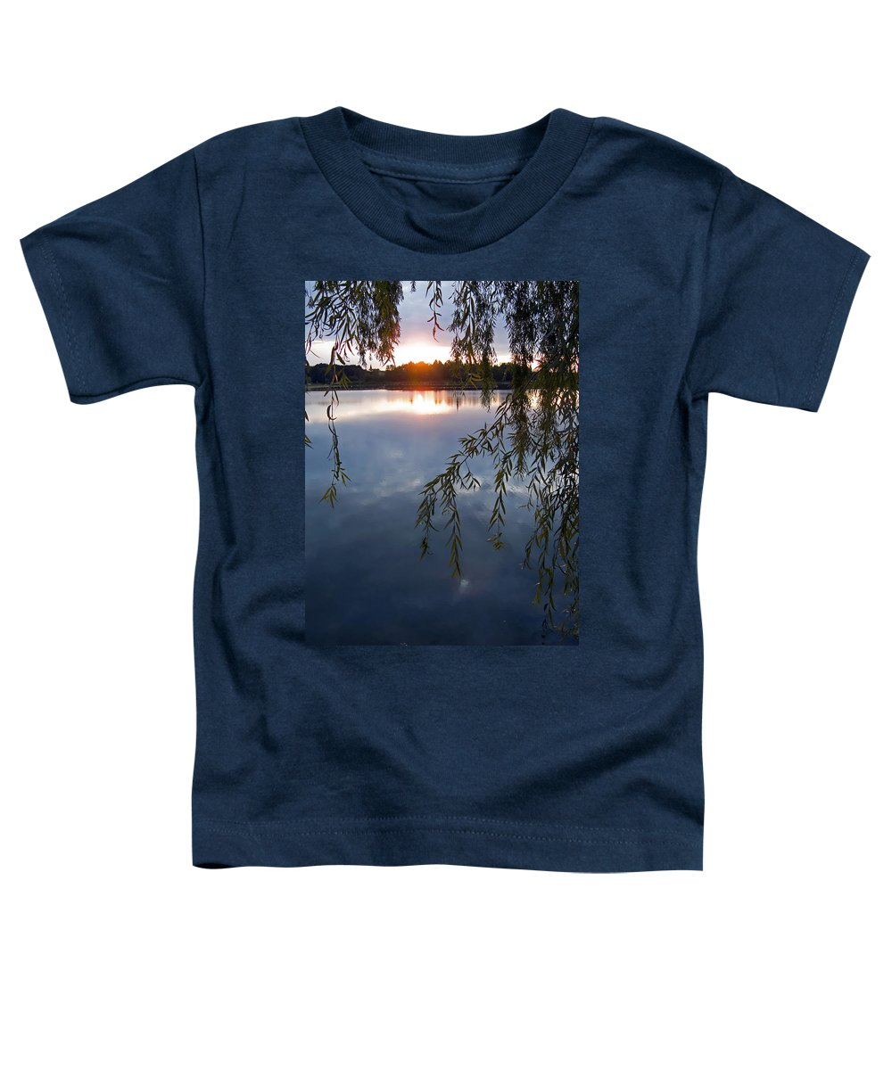 Nature Toddler T-Shirt featuring the photograph Sunset by Daniel Csoka