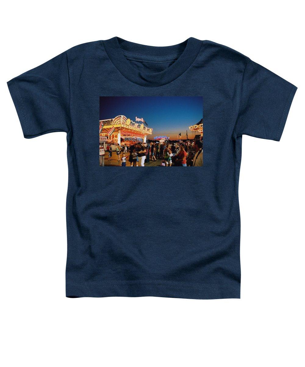 Board Walk Toddler T-Shirt featuring the photograph Super Himalaya by Steve Karol