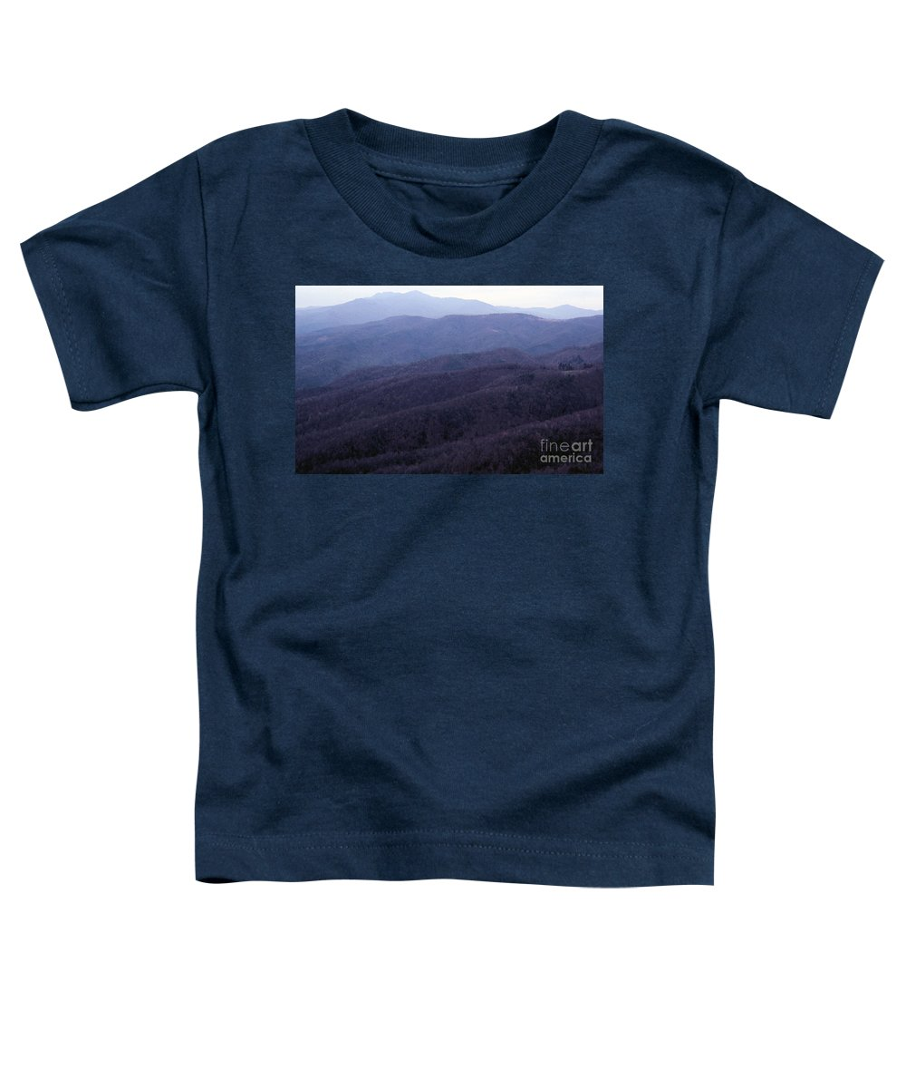 Mountains Toddler T-Shirt featuring the photograph The Blue Ridge by Richard Rizzo
