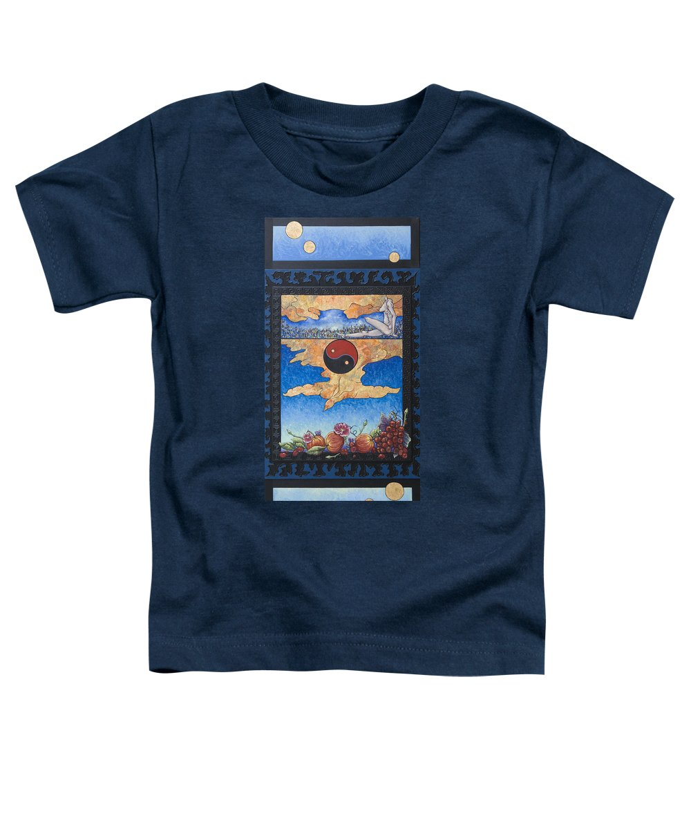 Karma Toddler T-Shirt featuring the painting The Dream by Judy Henninger