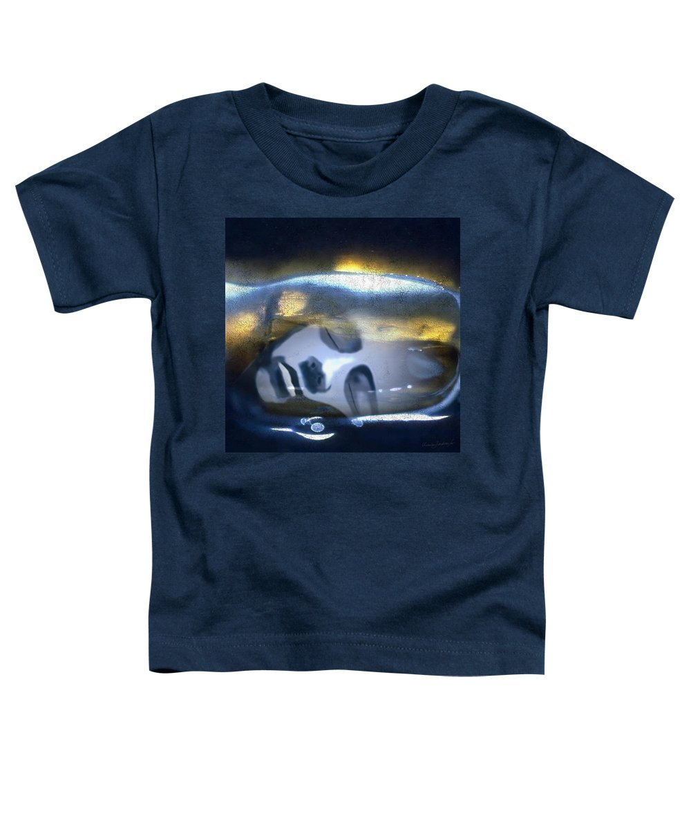 Dream Sky Universe Methaphysics Aura Afterlife Toddler T-Shirt featuring the digital art The Dream by Veronica Jackson