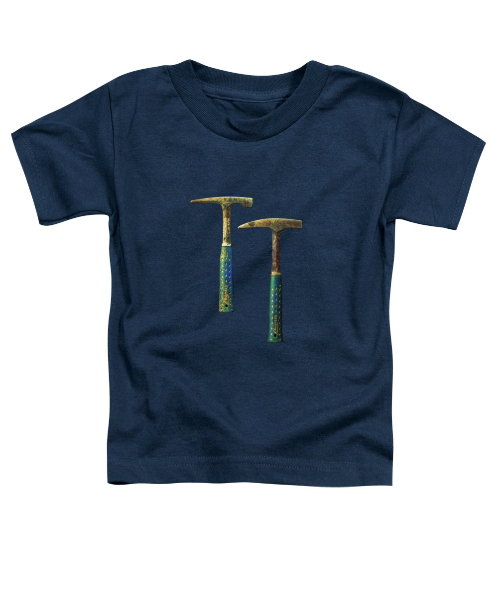 Background Toddler T-Shirt featuring the photograph Tools On Wood 65 by YoPedro