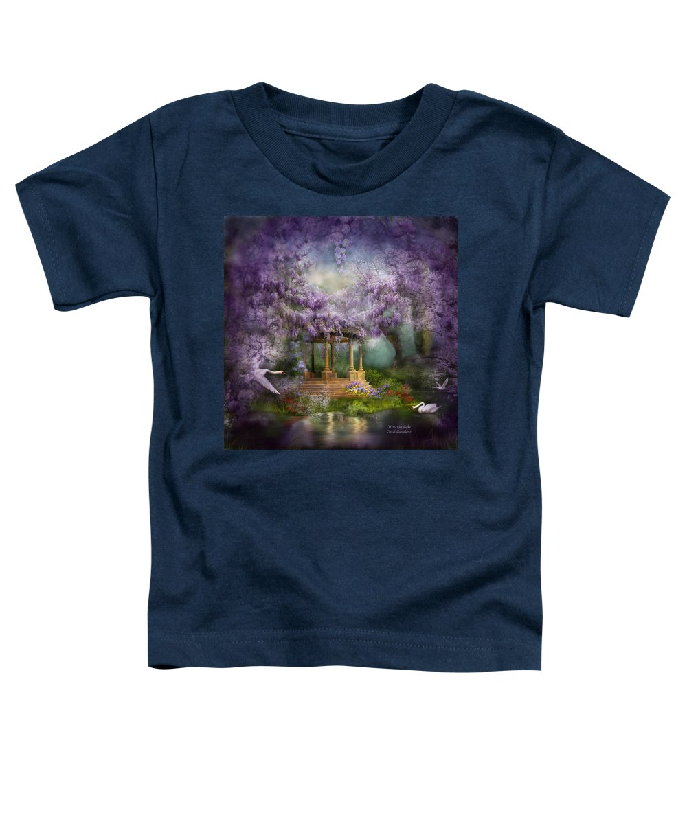 Wisteria Mixed Media Toddler T-Shirts