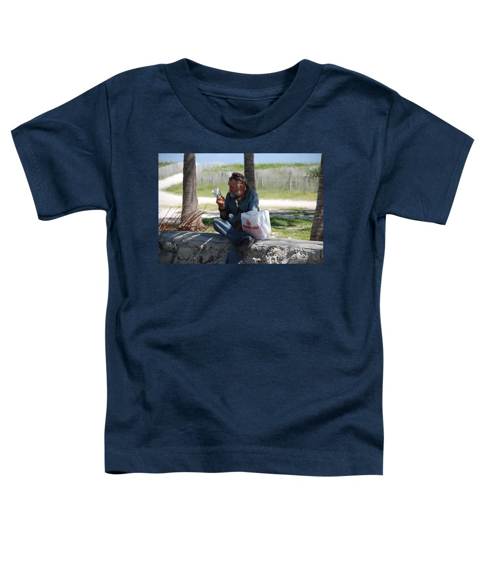 Man Toddler T-Shirt featuring the photograph Worldly Posessions by Rob Hans