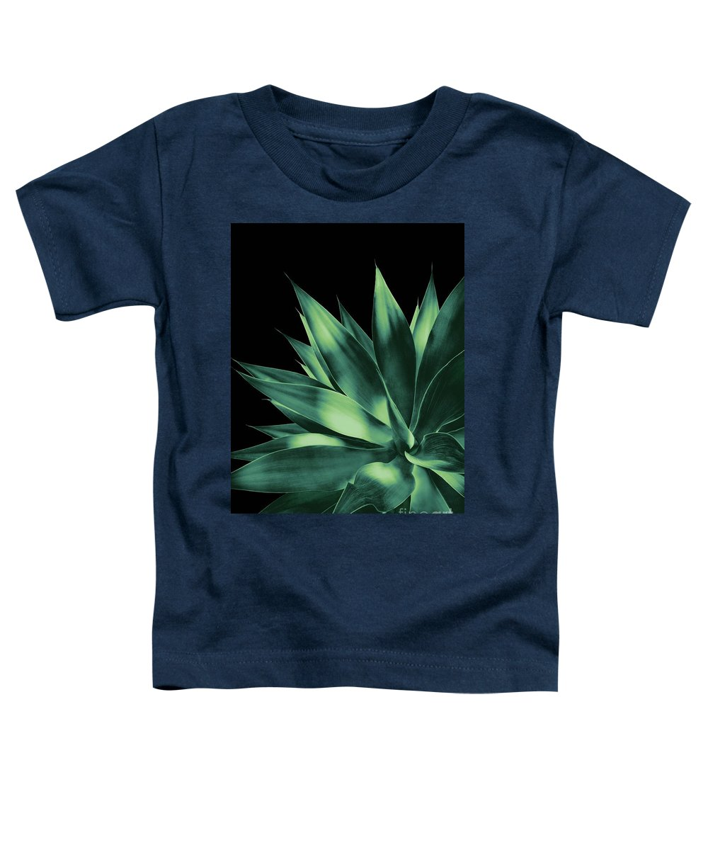 Color Toddler T-Shirt featuring the mixed media Agave Vivid Delight #2 #tropical #decor #art by Anitas and Bellas Art