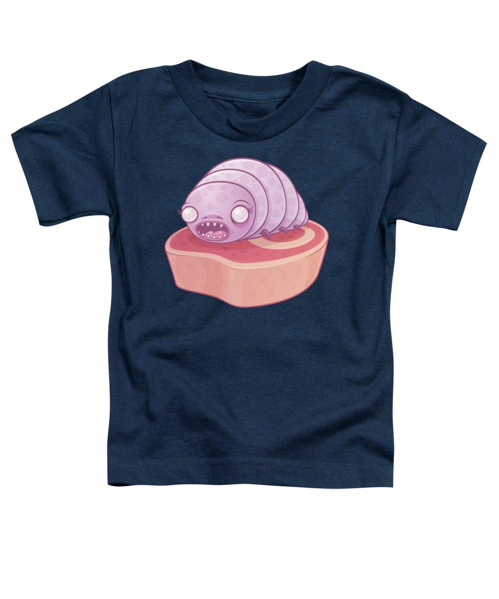 Cute Toddler T-Shirt featuring the digital art Maggie by John Schwegel