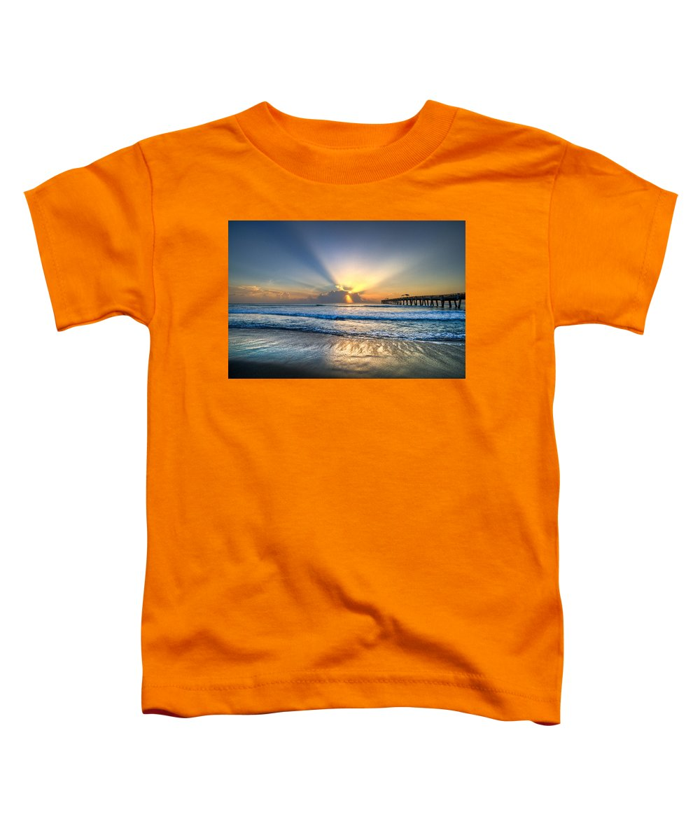 Palm Toddler T-Shirt featuring the photograph Heaven's Door by Debra and Dave Vanderlaan
