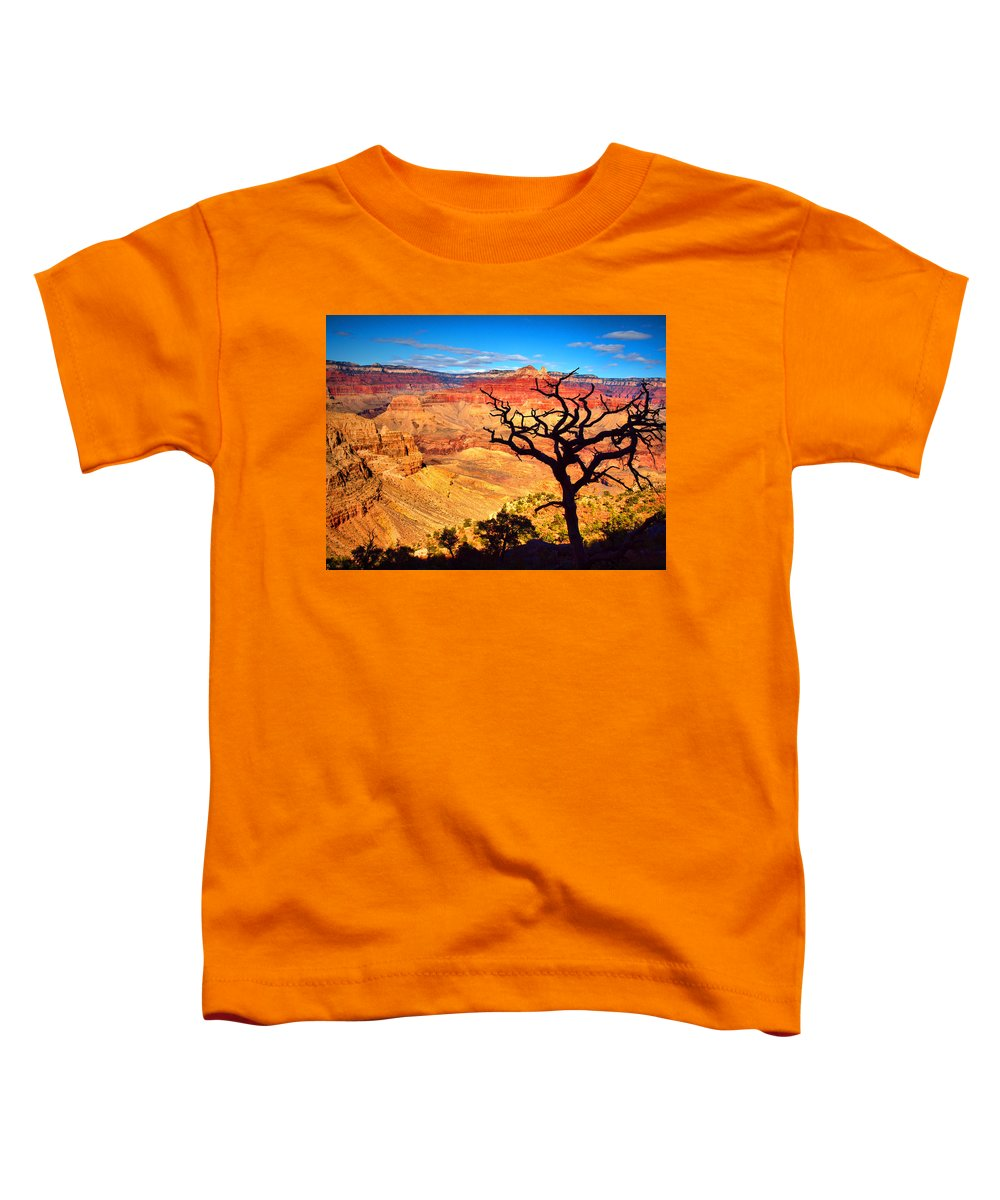 Canyon Toddler T-Shirt featuring the photograph The Silhouette by Tara Turner