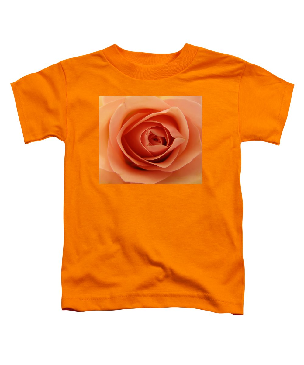 Rose Toddler T-Shirt featuring the photograph Rose by Daniel Csoka