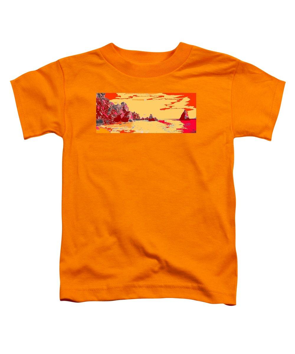 Mediterranean Toddler T-Shirt featuring the photograph Algarve Sunrise by Ian MacDonald