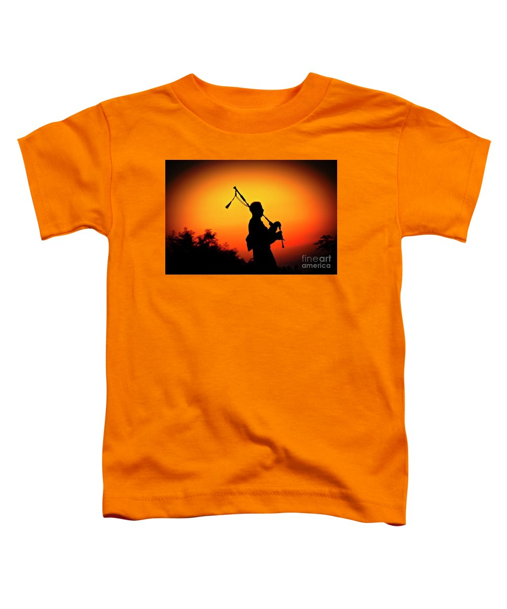 Sunset Toddler T-Shirt featuring the photograph Amazing Grace by Jim Cazel
