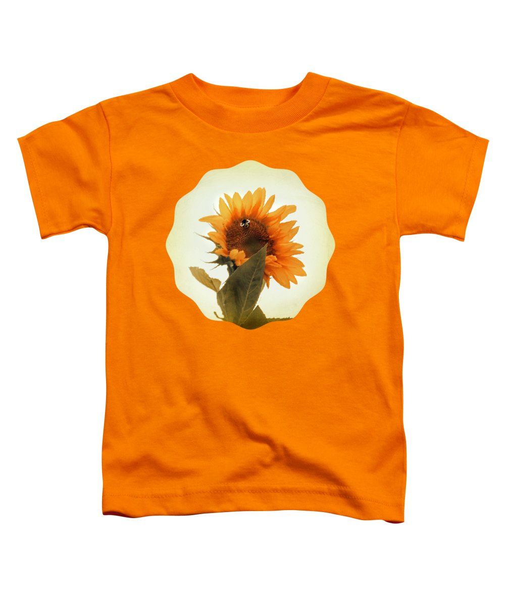 Bee Mine Toddler T-Shirt featuring the photograph Bee Mine - Paint by Anita Faye