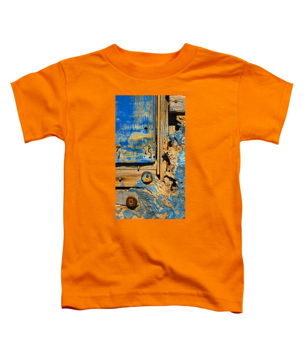 Abstract Toddler T-Shirt featuring the photograph Blues Dues by Skip Hunt